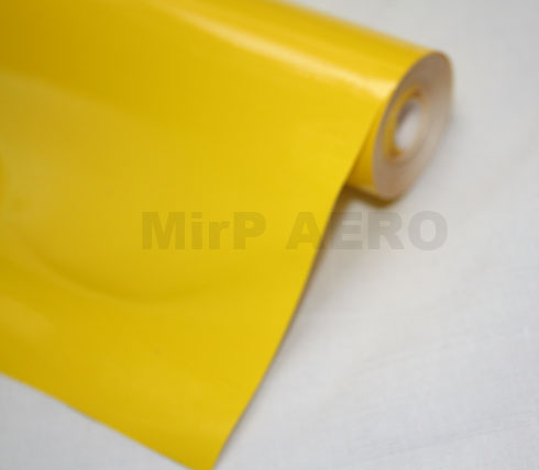 #104/A Plastic Cover Solid Mid-Yellow (200x60cm)