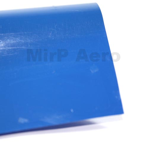 #108/A Plastic Cover Solid Sea-Blue (150x 60Cm)
