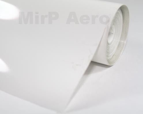 #113/A Plastic Cover Solid White (150x 60Cm)