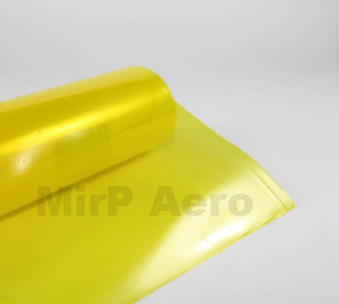 #203/A Palstic Cover Transparent Yellow (200x 60Cm)