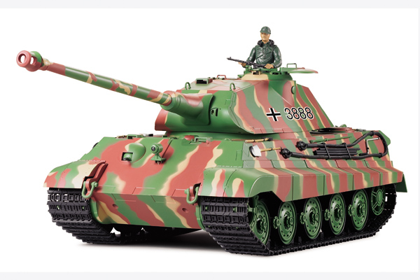 #RT-3888-1 New 1:16 Scale German King Tiger R/C Tank