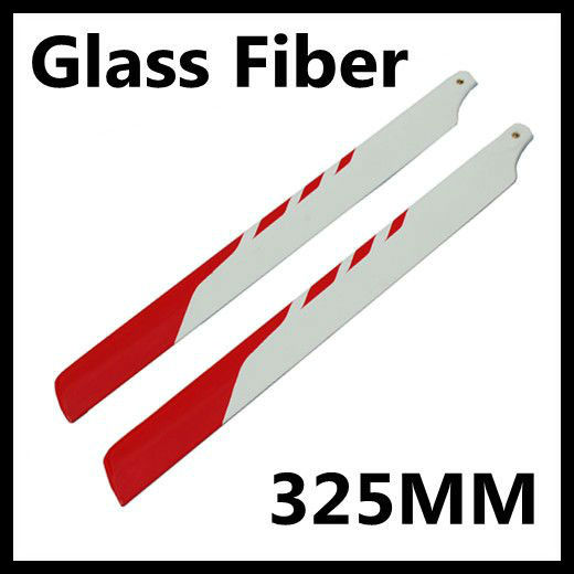 #BD001R 325mm Glassfiber Blade for 450 Helicopter