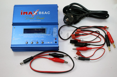 #CG002 iMAX B6-AC B6AC Dual Power RC Battery Balance Charger