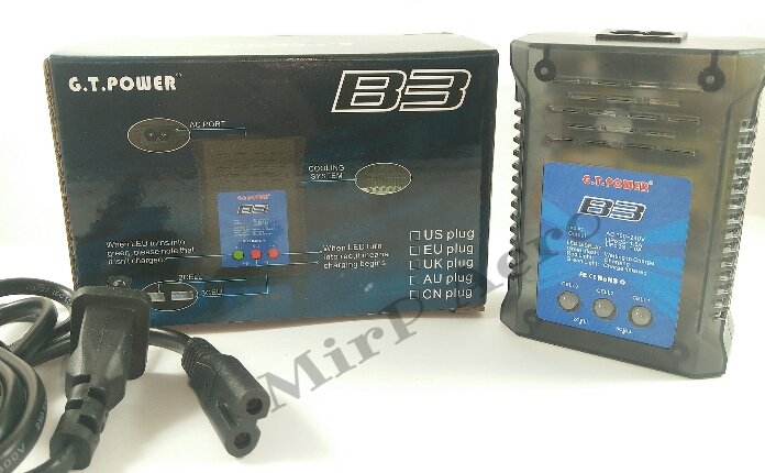 #CG004 G.T. Power B3 2-3S Lipo charger Current 1.5A