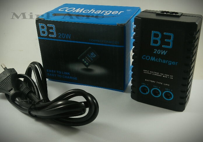 #CG005 B3 20W 2S-3S LiPo Intelligent Battery charger