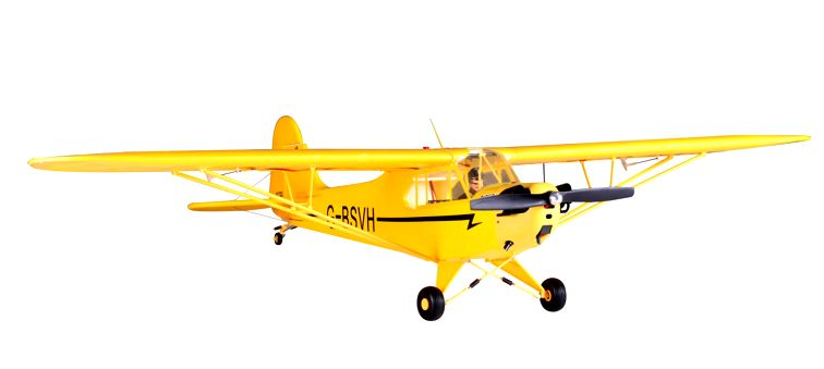 #DS035 FMS 1400mm J3 Brushless Powered RC Airplane PnP