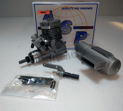 #EN01 ASP S21A Two Stroke Glow Engine