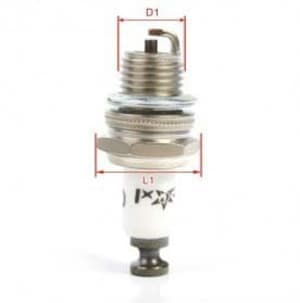 #EN02B Rcexl CM6-10mm Spark Plug for Gas/ Petrol Engine