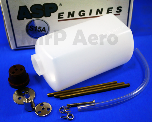 #FT180 180cc Fuel Tank for Nitro Plane S21A/3.5CC - Click Image to Close