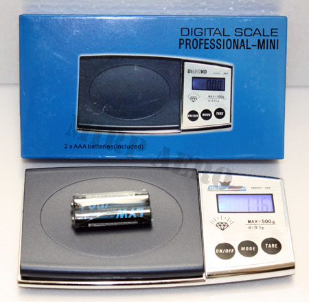 #IS01 Hobbyking Retro LCD Pocket Scale 0.1g~500g