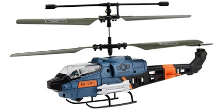 #JX331 Mini Military 3CH Cobra RC Helicopter w/ Gyro