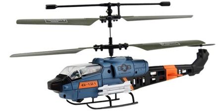 JX331 Mini Military 3CH Cobra RC Helicopter w/ Gyro - Rp270 000