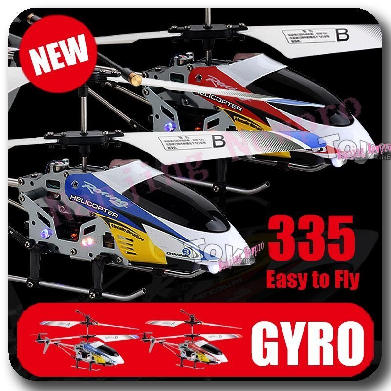 #JX335 Racer 3CH RC Helicopter RTF w/ Gyro