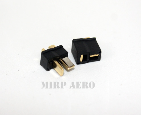 #LA001Z Mini black T Connector