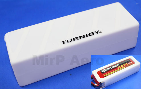 #LA006 Turnigy Soft Silicone Lipo Battery Protector (White)