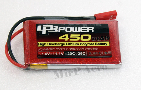 #LB008 Turnigy nano-tech 370mah 3S 25-40C Lipo Pack
