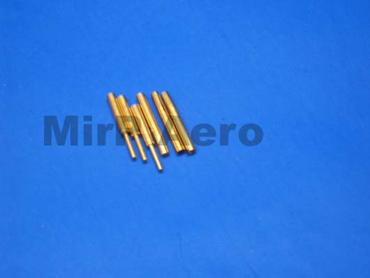 #BC001 2mm Gold Connectors ( 3 pair)