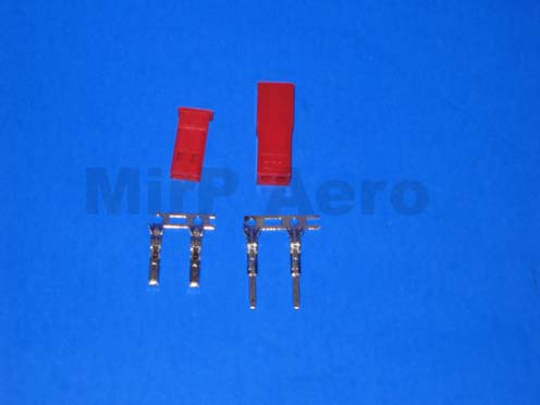 #LA012 JST 2 pin connector set (1pair)