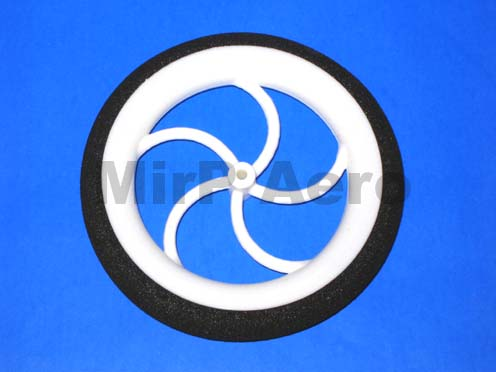 #W007 Light Foam Wheel Diam: 60, Width: 10mm 1pc