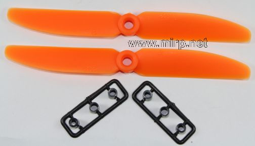 #PMO-00 Gemfan 5x3 CW+CCW Orange