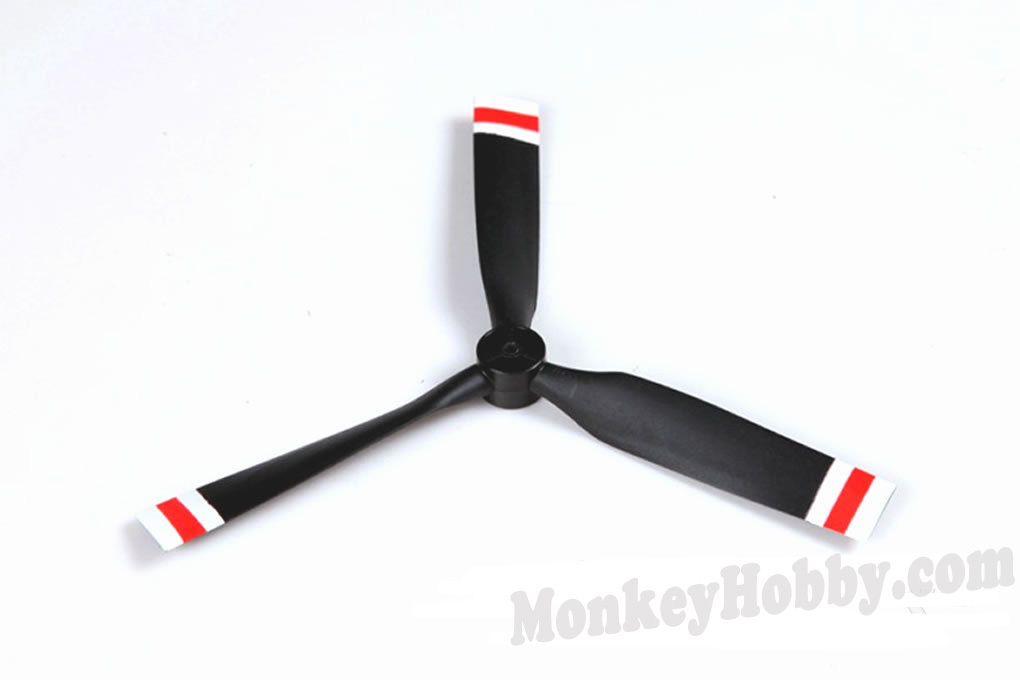 #PS302 Propeller FMS 800mm T-28D Trojan(RED)