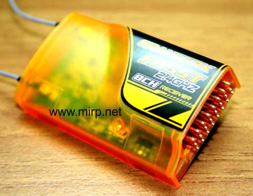 #R013 OrangeRx Futaba FASST Compatible 8Ch 2.4Ghz Receiver - Click Image to Close