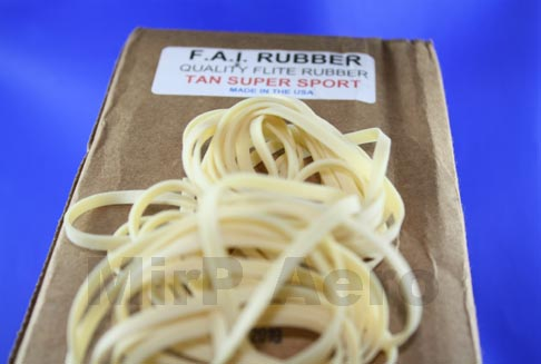 #RR01 Tan Sport RubberStrip 1/8in (3.8mm) Per 3m