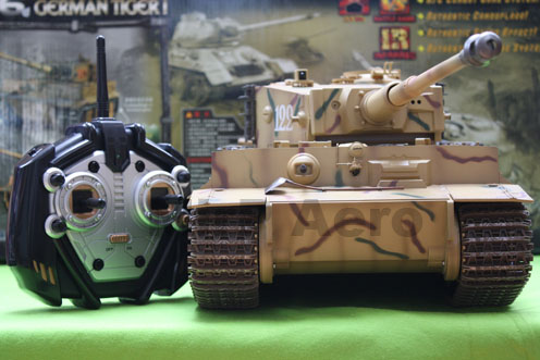 #RT-00808 1:16th Scale German Tiger I Infrared R/C Battle Tank