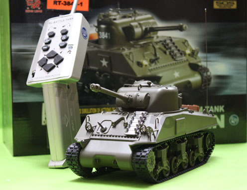 #RT-3841-1 1:30 USA R/C M4A3 Sherman