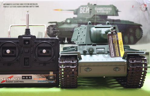 #RT-3878-1 1:16 Rusian KV-1 RTR R/C Airsoft Battle Tank