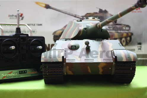 #RT-3888-1 1:16 Scale German King Tiger R/C Tank