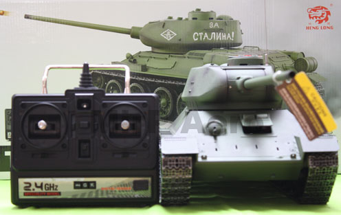 #RT-3909-1 1:16 Scale Russia T-34 RTR 2.4Ghz R/C system