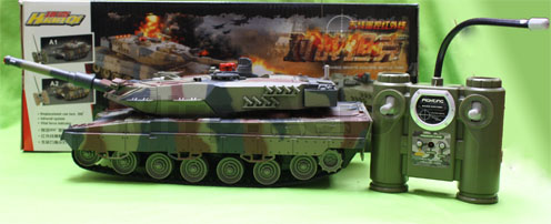 #RT-51610 Battle Tank, Ready to Run