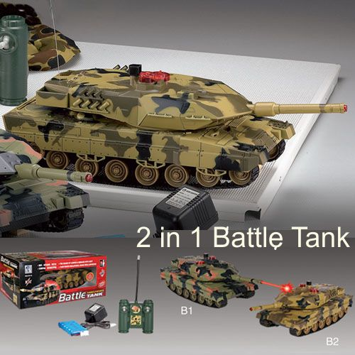 #RT-51610 Battle Tank(2 in 1), Ready to Run (2pcs/1pair)