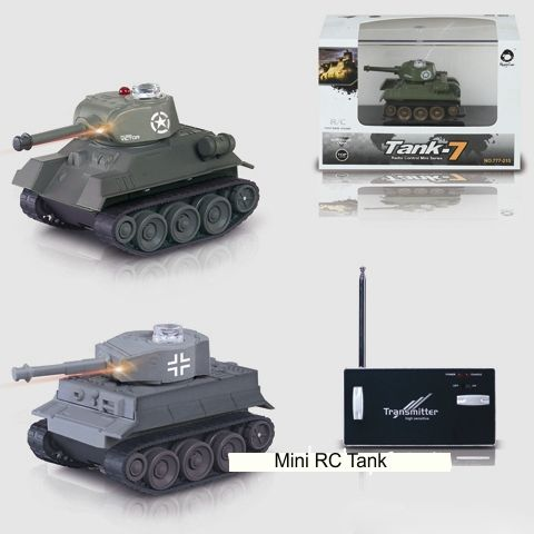 #RT-77215 Mini Rc Tank with LED Light