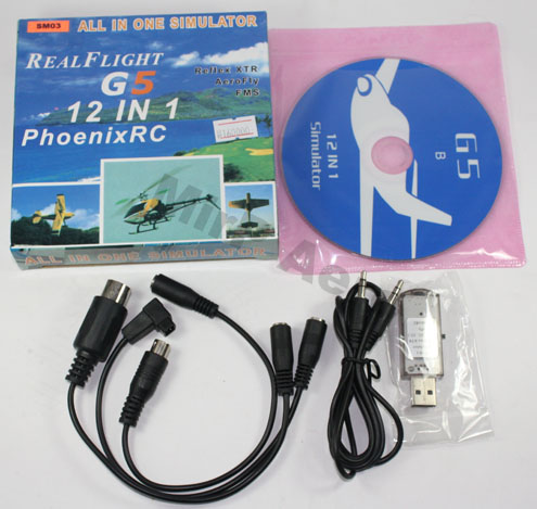 #SM03 USB Simulator Cable RealFlight G4.5