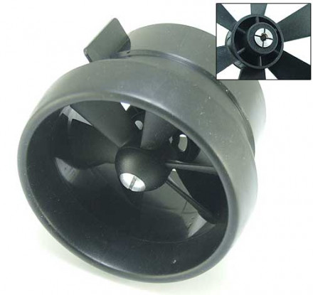 #MA002 EDF Ducted Fan Unit 6 Blade 2.56inch / 66mm