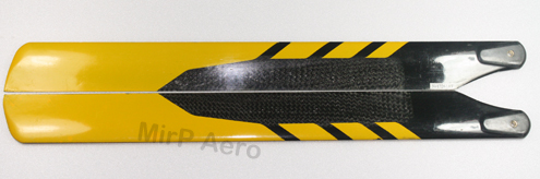 #BD2-Y 325 Carbon Fibre Blades For 450 Helicopter