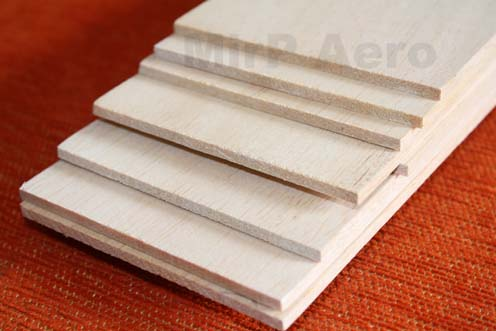 #BL10 Balsa Sheet 1000x90x1mm