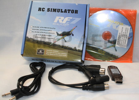 #SM03 22in1 RC USB Flight Simulator Cable