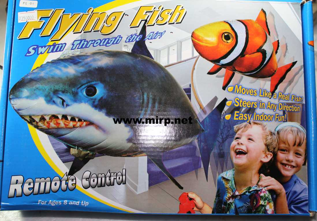 #FS-01 Flying Fish Shark/Hiu (tanpa isi Gas Helium)