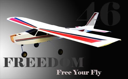 Trainer Freedom KIT Wingspan 63in/160cm